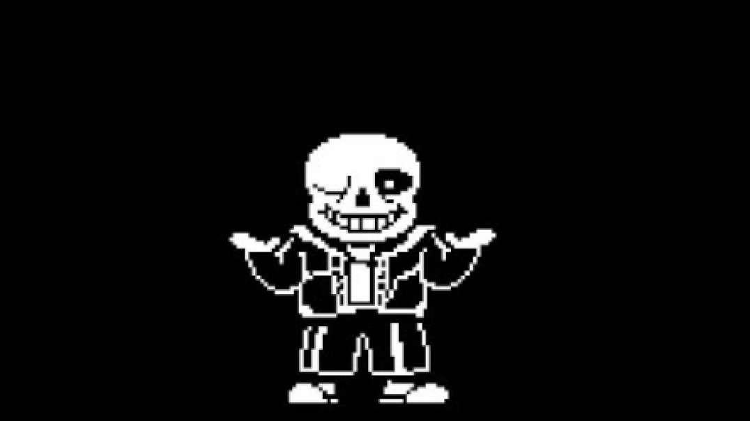 Sans Skeleton Man