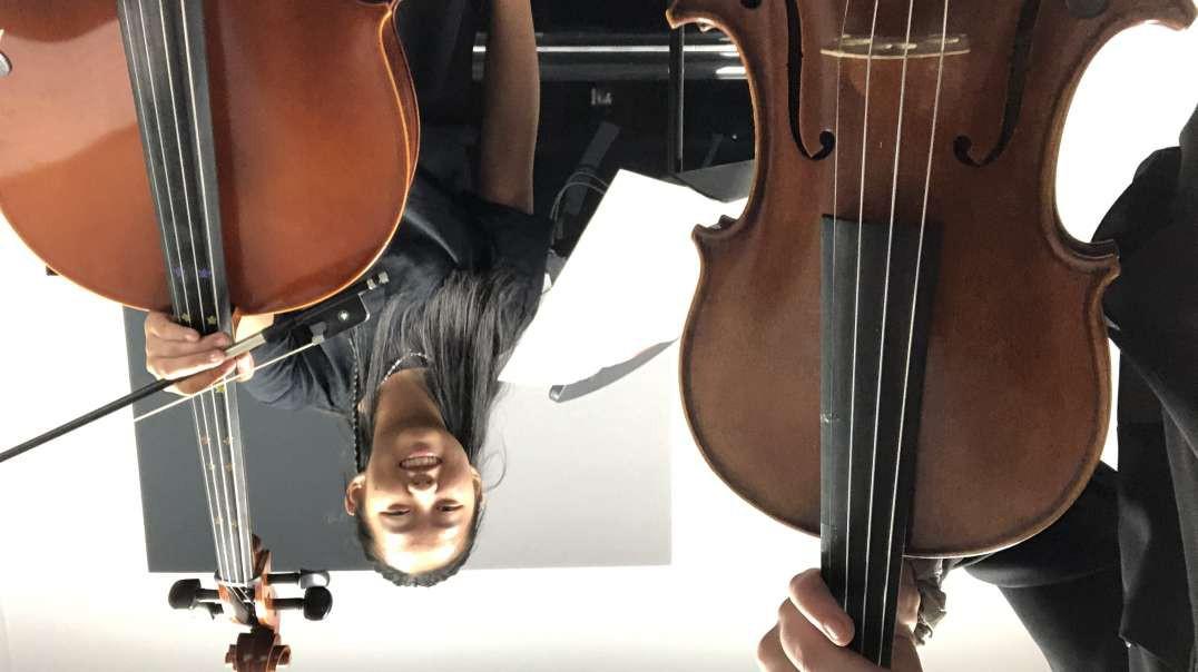Violin and cello! Classical hoedown